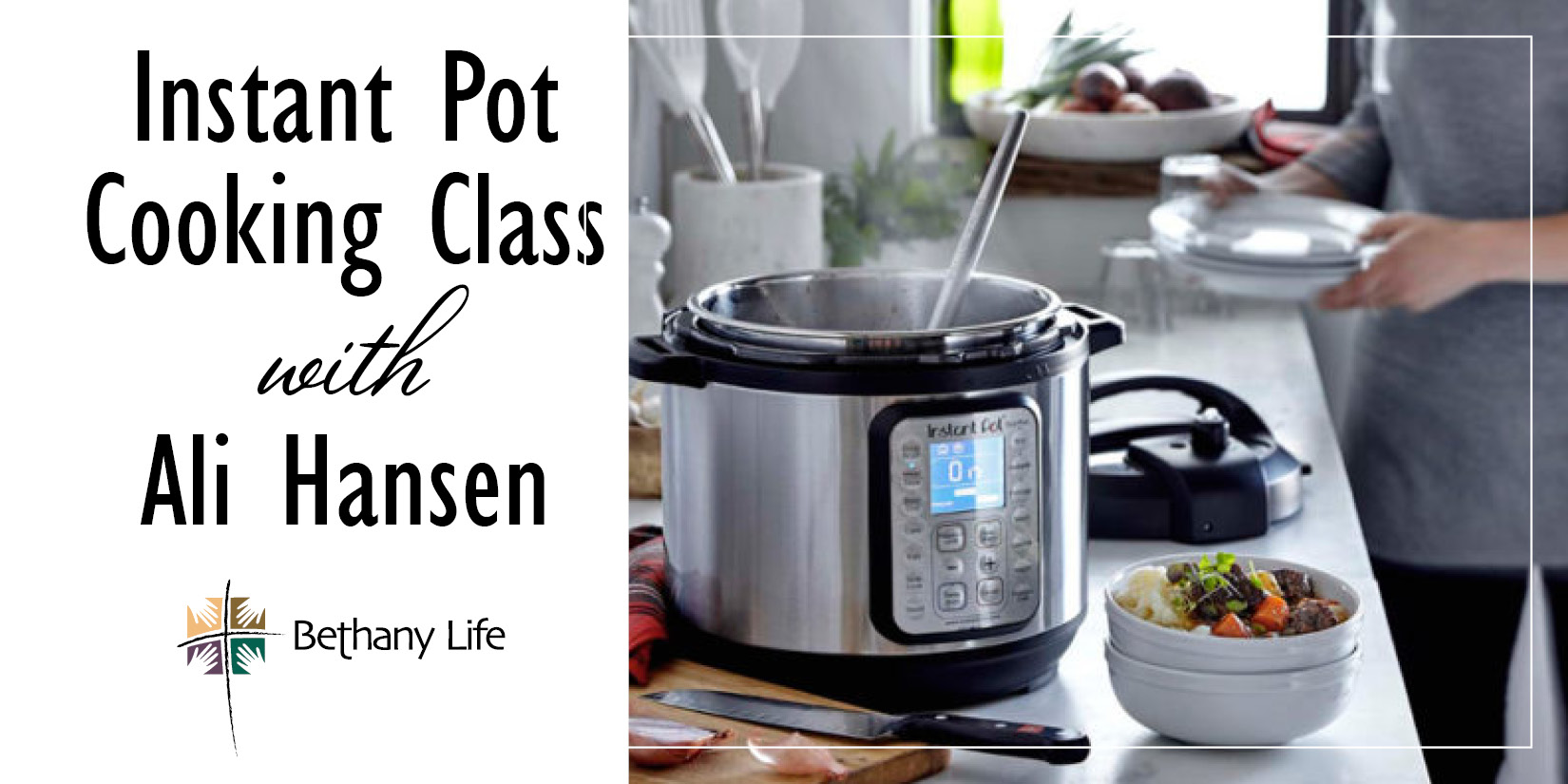 Instant Pot Cooking Class With Alli Hansen