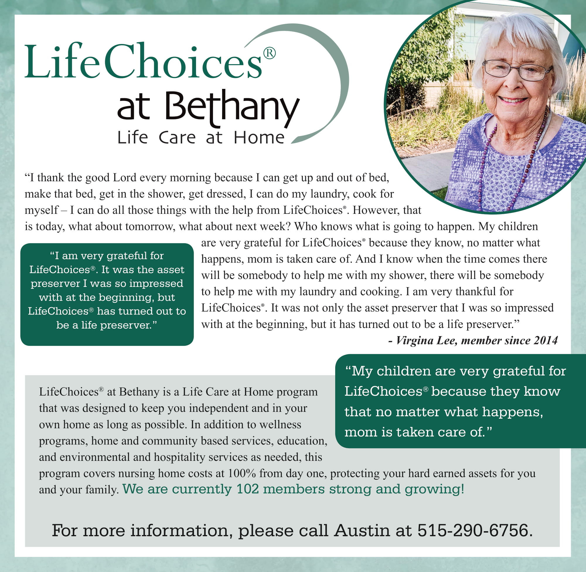 October Life Choices Newsletter